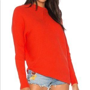 Free People Asymmetrical Sweater